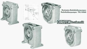 TGL 10868 - einfach aufgebaute Radialkolbenpumpen von Orsta Hydraulik [Baukasten]