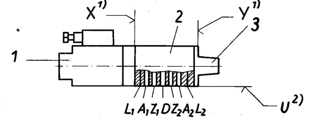 TGL 10919 - der Aufbau der Wegeventils