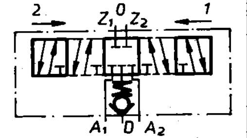 Funktion 01 der TGL 10921 Steuereinheit als Schaltzeichen
