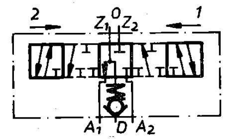 Funktion 07 der TGL 10921 Steuereinheit als Schaltzeichen