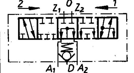 Funktion 09 der TGL 10921 Steuereinheit als Schaltzeichen
