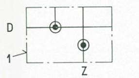 Symbol für Einzelunterplatten 45.15