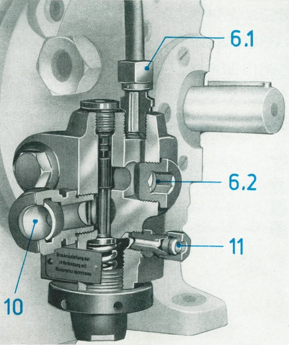 Anschlüsse der Bauform A der TGL 10871